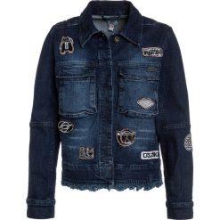 Tumble 'n dry AVA Kurtka jeansowa denim dark stonewash. Niebieskie kurtki chłopięce marki Tumble 'n dry, z bawełny. W wyprzedaży za 206,10 zł.