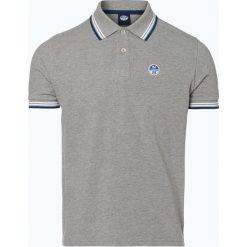 North Sails - Męska koszulka polo, szary. Szare koszulki polo North Sails, m, w paski. Za 299,95 zł.