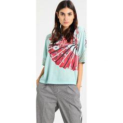 T-shirty damskie: Smash GUENOA Tshirt z nadrukiem turquoise
