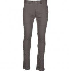 Spodnie chino - Skinny Fit - w kolorze szarym. Szare chinosy męskie marki Ben Sherman, z aplikacjami, z materiału. W wyprzedaży za 173,95 zł.