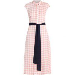 Sukienki hiszpanki: Cortefiel SLEEVELESS LONG VICHY PRINT DRESS Sukienka koszulowa rose