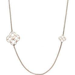 Naszyjniki damskie: Srebrny naszyjnik – (D)80 cm