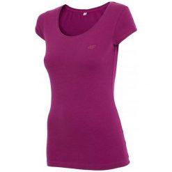 4F Koszulka Damska H4Z17 tsd001 Fiolet Purpurowy Xs. Fioletowe topy sportowe damskie 4f, xs, z bawełny. W wyprzedaży za 19,00 zł.