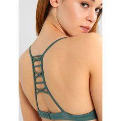 Stroje kąpielowe damskie: RVCA SOLID BRALETTE Góra od bikini mallard green