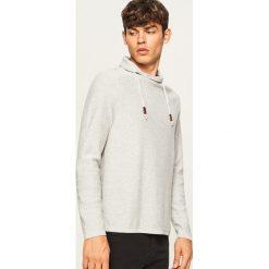 Sweter z wysokim kołnierzem - Jasny szar. Szare swetry klasyczne męskie marki bonprix. Za 99,99 zł.