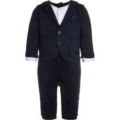 Spodnie niemowlęce: BOSS Kidswear BABY OVERALL Kombinezon marine