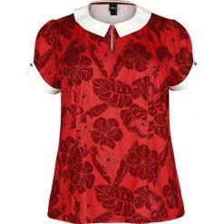 Lilo & Stitch Tropical Koszulka damska czerwony/biały. Białe t-shirty damskie Lilo & Stitch, xl, z nadrukiem. Za 99,90 zł.