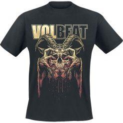 T-shirty męskie: Volbeat Bleeding Crown Skull T-Shirt czarny