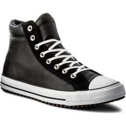 Trampki CONVERSE - Ctas Boot Pc Hi 157496C Black/Black/White. Czarne trampki męskie Converse, z gumy. W wyprzedaży za 289,00 zł.