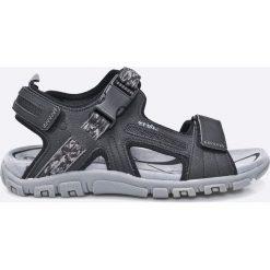 Geox - Sandały. Szare sandały męskie skórzane Geox. W wyprzedaży za 219,90 zł.