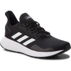 Buty adidas - Duramo 9 K BB7061 Cblack/Ftwwht/Cblack. Czarne buty sportowe damskie marki Adidas, z kauczuku. W wyprzedaży za 149,00 zł.