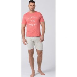 Piżamy męskie: Męska piżama RÖSSLI Living The Ocean