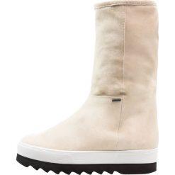 Högl Botki na platformie beige. Brązowe buty zimowe damskie HÖGL, z materiału, na platformie. W wyprzedaży za 576,95 zł.