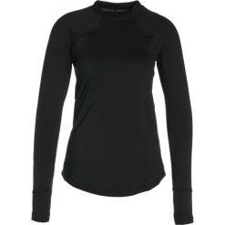 Under Armour REACTOR Koszulka sportowa black. Czarne topy sportowe damskie marki Under Armour, l, z elastanu. W wyprzedaży za 215,20 zł.