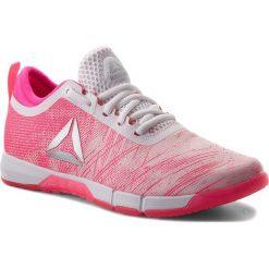 Buty Reebok - Speed Her Tr CN2246  Pink/White/Silver. Czerwone buty do fitnessu damskie Reebok, z materiału. W wyprzedaży za 269,00 zł.