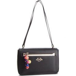 Torebka LOVE MOSCHINO - JC4108PP17LM0000 Nero. Czarne torebki klasyczne damskie Love Moschino, ze skóry ekologicznej. Za 909,00 zł.