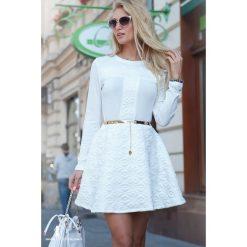 Sukienki: Sukienka Krem LB2246