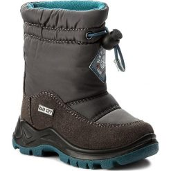 Buty zimowe chłopięce: Śniegowce NATURINO – Varna 0013001227.01.9104  Antracite F. Do Nero M