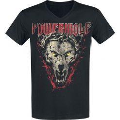 Powerwolf Icon Wolf T-Shirt czarny. Czarne t-shirty męskie Powerwolf, l. Za 79,90 zł.