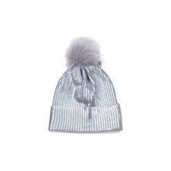 Czapka damska Glamorous winter srebrna. Szare czapki zimowe damskie marki Art of Polo. Za 40,31 zł.