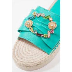 Chodaki damskie: RAS Klapki emerald/multicolor
