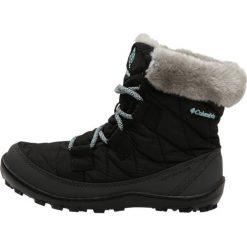 Buty zimowe damskie: Columbia YOUTH MINX SHORTY OMNIHEAT WATERPROOF Śniegowce black/spray