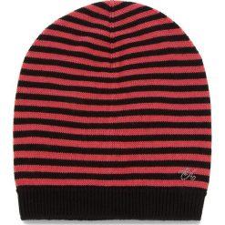 Czapka EMPORIO ARMANI - 394552 8A510 61520 S Black/Hot Pink. Szare czapki zimowe damskie marki Emporio Armani, l, z nadrukiem, z bawełny, z okrągłym kołnierzem. Za 319,00 zł.