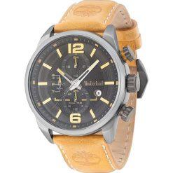 """Zegarki męskie: Zegarek kwarcowy """"Henniker II"""" w kolorze beżowo-srebrno-czarnym"""