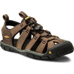 Sandały KEEN - Clearwater Cnx Leather 1013106 Dark Earth/Black. Brązowe sandały męskie skórzane marki Keen. W wyprzedaży za 299,00 zł.