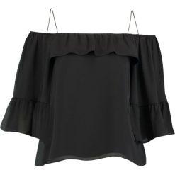 Bluzki asymetryczne: Whistles HAYLEY COLD SHOULDER Bluzka black