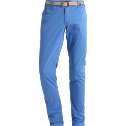 Chinosy męskie: Cortefiel Spodnie materiałowe blues