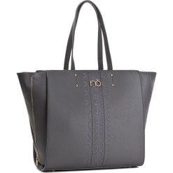Torebka NOBO - NBAG-D0010-C019  Szary. Szare torebki klasyczne damskie marki Nobo, ze skóry ekologicznej, duże. W wyprzedaży za 149,00 zł.