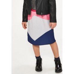Spódniczki dziewczęce z falbankami: Plisowana spódnica – Różowy