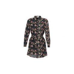 Sukienki krótkie Casual Attitude  RENDA. Czarne sukienki hiszpanki Casual Attitude, na co dzień, l, casualowe, z krótkim rękawem, mini. Za 159,20 zł.