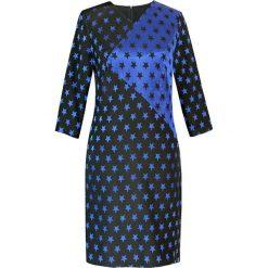 Sukienki hiszpanki: Sukienka w kolorze niebiesko-czarnym