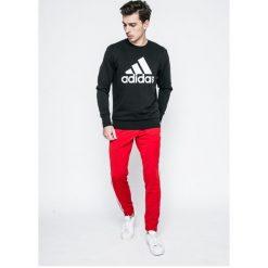 Adidas Performance - Bluza. Czarne bluzy męskie adidas Performance, m, z nadrukiem, z bawełny, bez kaptura. W wyprzedaży za 179,90 zł.