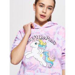 Bluzy rozpinane damskie: Bluza my little pony - Fioletowy