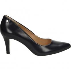 Czółenka - 1062 T BL J16. Czarne buty ślubne damskie Venezia, ze skóry. Za 179,00 zł.