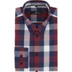 Koszula BIAGIO slim 16-03-13. Szare koszule męskie Giacomo Conti, m, z bawełny, button down, z długim rękawem. Za 149,00 zł.