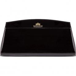 Torebka damska 25-4-516-1. Czarne torebki klasyczne damskie Wittchen, w paski. Za 599,00 zł.