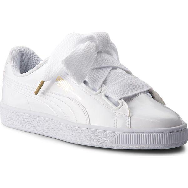 Sneakersy PUMA Basket Heart Patent 363073 02 Puma WhitePuma White