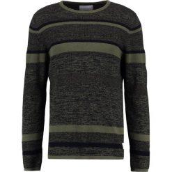 Swetry męskie: Jack & Jones JCOBROKE CREW NECK Sweter grape leaf