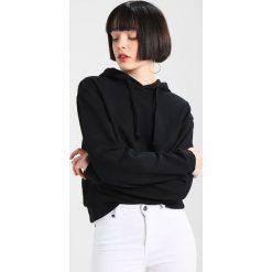Bluzy damskie: NAKD BASIC HOODIE Bluza z kapturem black