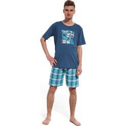 Chłopięca piżama Ocean. Białe bielizna chłopięca marki B'TWIN, m, z elastanu, z krótkim rękawem. Za 69,99 zł.