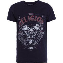 Koszulki polo: True Religion MOTORBLOCK Tshirt z nadrukiem black