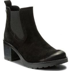 Botki LASOCKI - 4381-01 Czarny1. Czarne buty zimowe damskie Lasocki, z materiału, na obcasie. Za 229,99 zł.