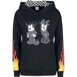 Vans Disney Punk Mickey Bluza z kapturem damska czarny. Czarne bluzy rozpinane damskie Vans, s, w kratkę, z kapturem. Za 224,90 zł.