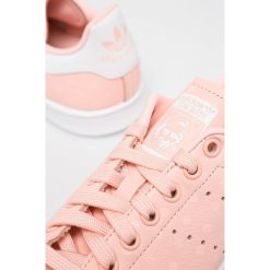 Adidas Originals - Buty Stan Smith W. Brązowe buty sportowe damskie marki adidas Originals, z bawełny. W wyprzedaży za 349,90 zł.