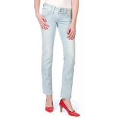 Pepe Jeans Jeansy Damskie Venus 32/32 Niebieski. Niebieskie jeansy damskie marki Pepe Jeans. W wyprzedaży za 230,00 zł.