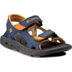 Sandały COLUMBIA - Childrens Techsun Vent BC4566 Carbon/Super Solarize 469. Niebieskie sandały męskie skórzane Columbia. W wyprzedaży za 99,00 zł.